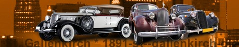 Auto d'epoca St. Gallenkirch | Limousine Center Österreich