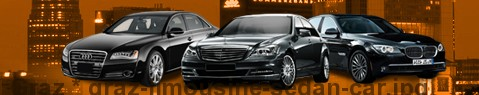 Limousine Graz | car with driver | Limousine Center Österreich