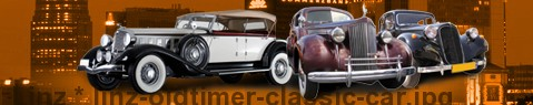 Vintage car Linz | classic car hire | Limousine Center Österreich